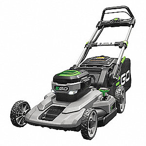 Self-Prop Mower,56V,7.5Ah Batt,Chrgr