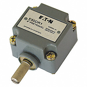 Limit Switch Head, CW and CCW, Actuator Location: Side, NEMA Rating: 1, 2, 4, 4X, 6P, 12, 13