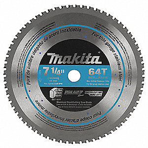 7 1/4IN STAINLESS CUT SAW BLADE 64T
