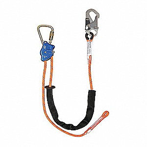 Adjustable Positioning Lanyard, Snap Hook
