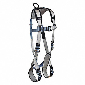 Full Body Harness,Gray/Blue,M