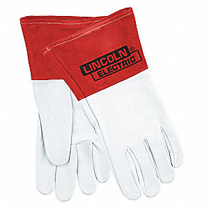 "Welding Gloves,TIG,18"",L,PR"