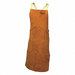 Welding Waist Apron,Leather,45 in. L