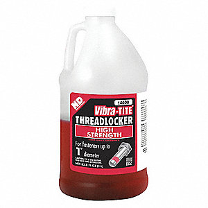 Threadlocker,Red,1L,Flash 201 deg.