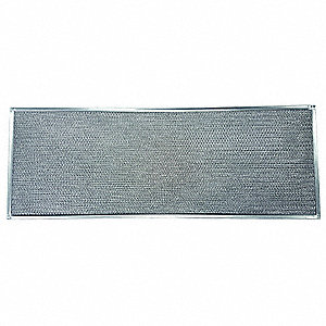 Aluminum Mesh Air Filter, 46-1/4 in W, PK2