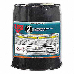 Heavy-Duty Lubricant, -50°F to 300 Degrees F, No Additives, 5 gal. Pail