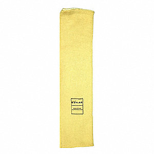 "Cut Resistant Sleeve,15""L,Yellow"