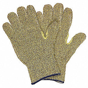 Cut Resistant Gloves,A3,M,Yellow,PR