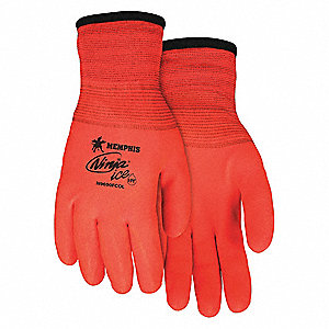 COATED GLOVES,L,15/7 GA.,HPT,PR