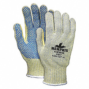 Cut Resistant Gloves,A7,XL,Multi,PR