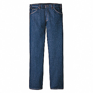 "Men's Regular Pocket Jeans, 100% Cotton, Color: Indigo, Fits Waist Size: 36"" x 30"""