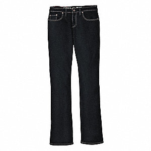 "Women's Stretch Pocket Jeans, Cotton/Polyester/Spandex, Color: Stonewash, Fits Waist Size: 35"" x 32"""
