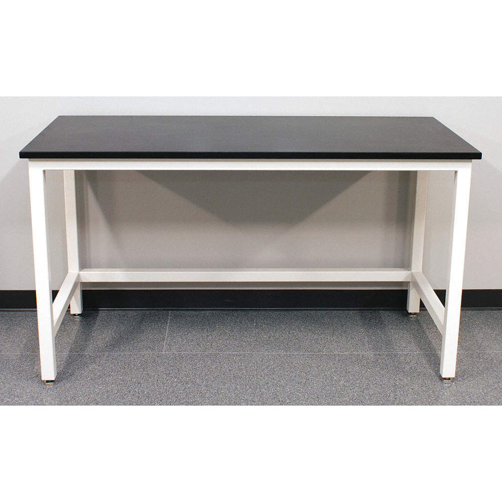 24 X 24 Coffee Table.84 X 24 X 37 Steel Table With 2000 Lb Load Capacity Pearl White