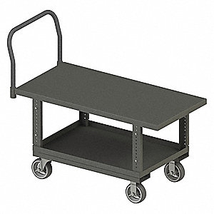 Platform Truck,2000lb,41in to 51in H