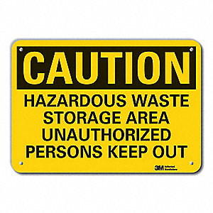 Caution Sign,10 in. H,Aluminum
