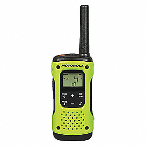Portable Two Way Radios,0.5W,22 Ch,PK2