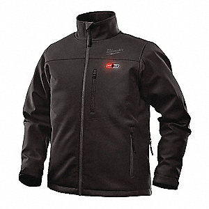 Heated Jacket Kit,2XL,Men's,Black