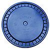 CVRCL SEAU PLSTQ,BLEU,ENCLIQ,1-3/16 PO H