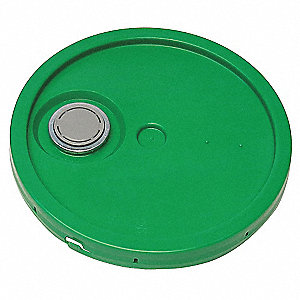Lid,Green,Spout w/Tear Tab,1-3/16 in. H