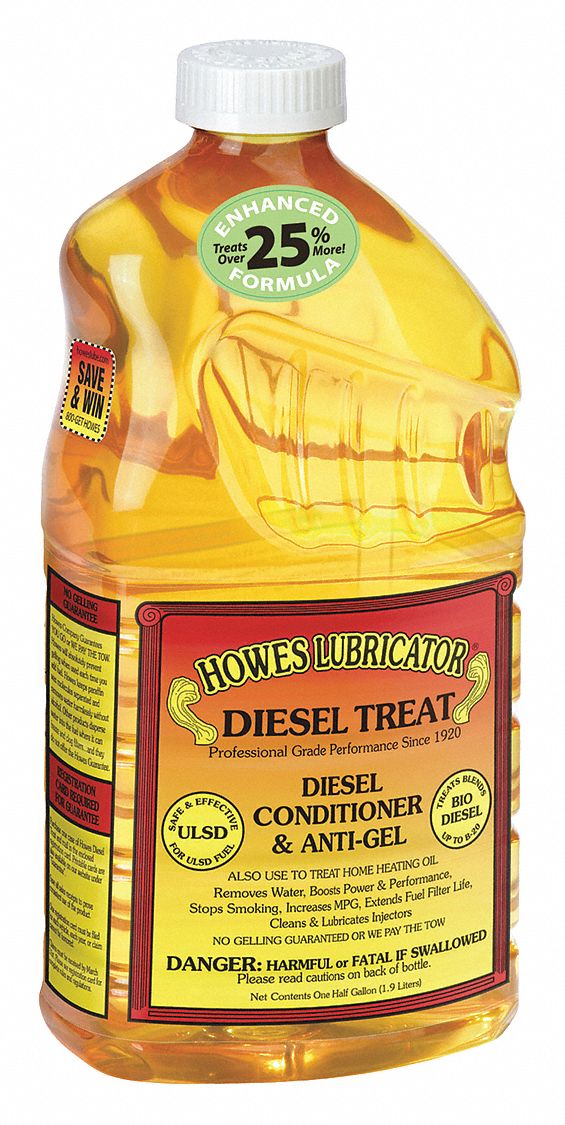 Diesel Fuel Additive, Amber, 64 oz.