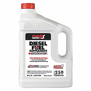 Diesel Fuel Supplement,Amber,80 oz.