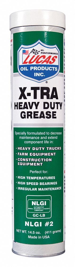 Heavy Duty Grease, 14.5 oz, Tube, Green