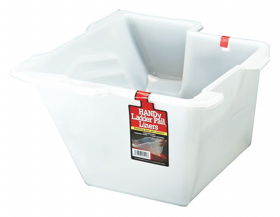 Paint Pail Liner, 1 gal., For Ladder, PK2