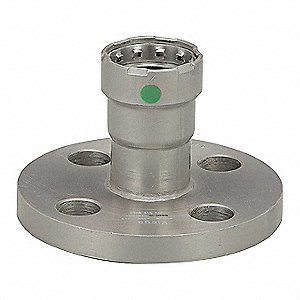 "Carbon Steel Adapter Flange, Press Connection Type, 3/4"" Tube Size"