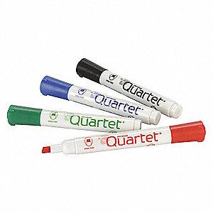 QUARTET Chisel-Tip Dry Erase Marker Set, Blue, Black