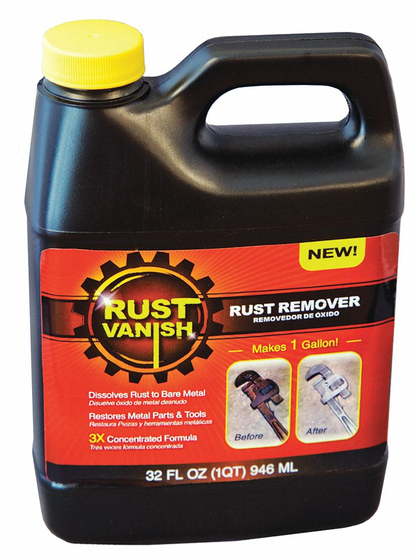 Rust Remover,  32 oz Cleaner Container Size,  Jug Cleaner Container Type,  Unscented Fragrance