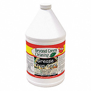 Grease Trap Treatment,Bottle,1 gal.,PK4
