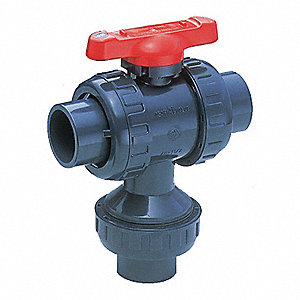 "Ball Valve,1/2"" Pipe Size,1/2"" Tube Size"