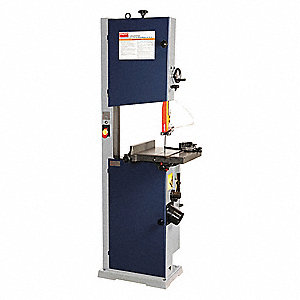 1 HP Vertical Band Saw, Voltage: 115/230, Max. Blade Length: 114""