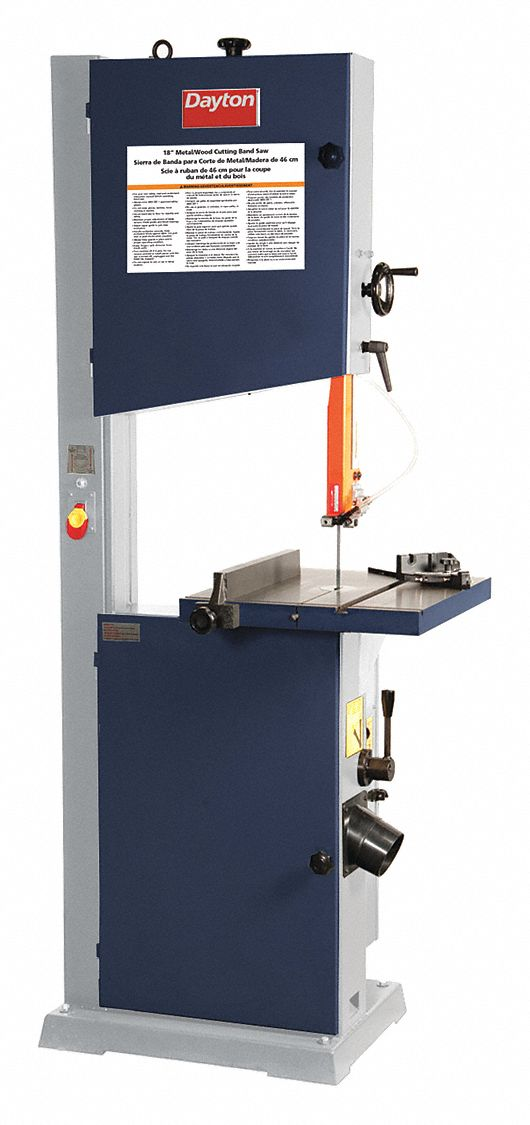 Corded,  Band Saw,  Vertical,  Manual