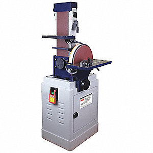 Disc Sander,12 In.,1-1/2 HP,120/240 V