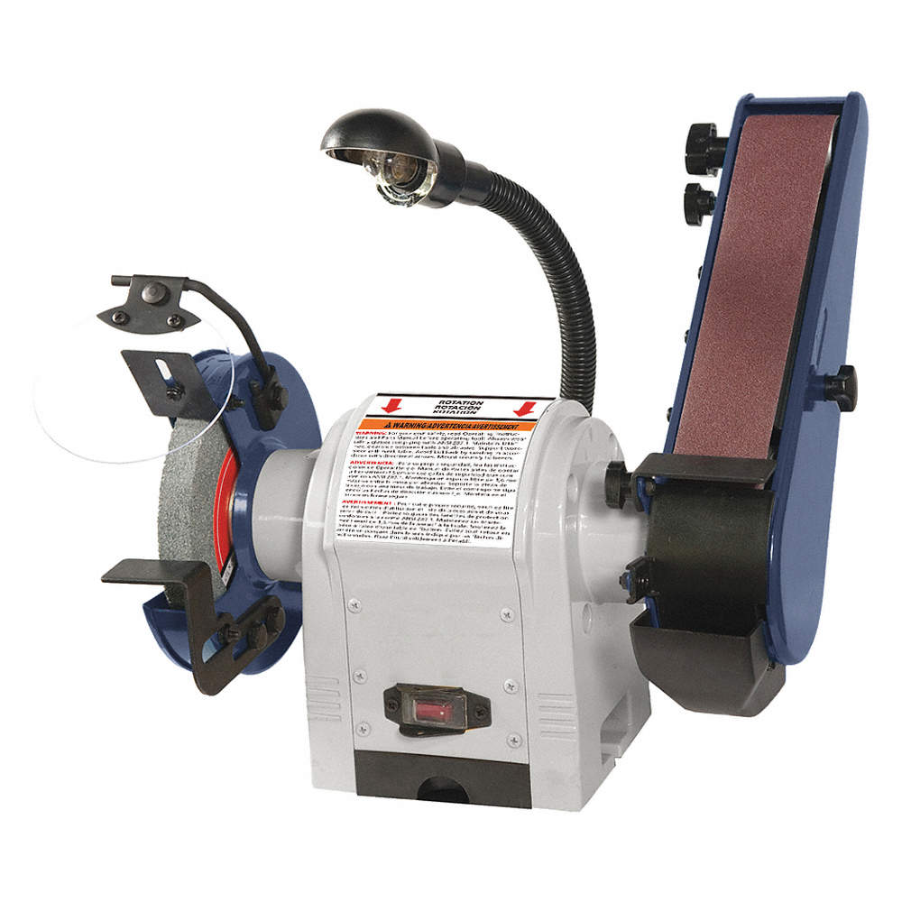 Marvelous Combination Belt And Bench Grinder 3600 Disc Speed Rpm 6 Wheel Dia In Pdpeps Interior Chair Design Pdpepsorg