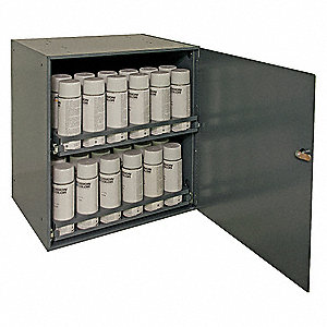 Aerosol Storage Cabinet,Steel,Gray