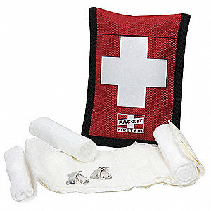 Bloodstopper Dressing Kit, Kit, Fabric Case Material, Bloodstopper, 1 People Served Per Kit