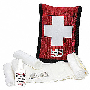 First Aid Kit,Bloodstopper,7 pcs.
