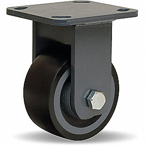 "4"" Plate Caster, 975 lb. Load Rating"