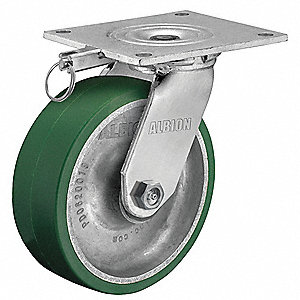 "4"" Light-Medium Duty Swivel Plate Caster, 700 lb. Load Rating"