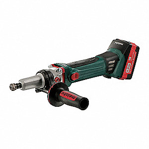 Cordless Die Grinder, Battery Included, 18.0, 6000 No Load RPM