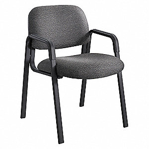 Cava Urth Straight Leg Guest Chair,Black