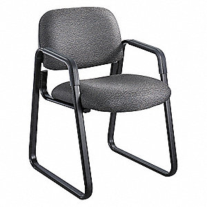 Cava Urth Sled Base Guest Chair,Black