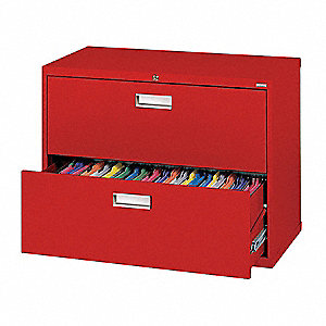 Cabinet,36 x 28-3/8 x 19-1/4 In,Red