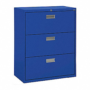 Cabinet,36 x 40-7/8 x 19-1/4 In,Blue