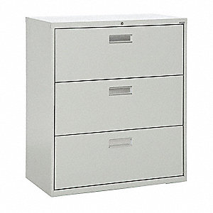 Cabinet,42 x 40-7/8 x 19-1/4 In,Gray