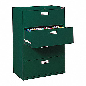 Cabinet,36x53-1/4x19-1/4 In,Forest Green