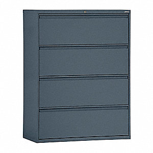 Cabinet,30 x 53-1/4 x 19-1/4 In,Charcoal