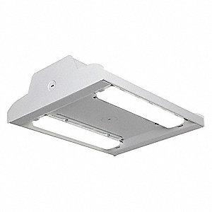 "LED High Bay,55W,9100 lm,15-1/16""L"